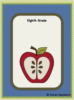 Eighth Grade Common Core Template and Organizer for Integr