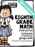 *SALE* Eighth Grade Spiral Bound Full Year Interactive Notebook