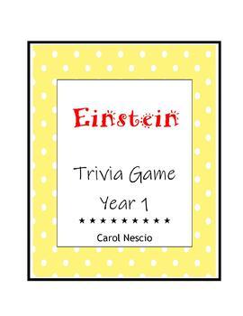 Einstein Trivia * Game Year 1