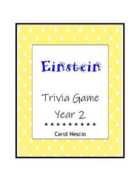 Einstein Trivia * Game Year 2
