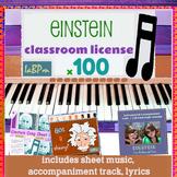 Einstein SONG KIT 100 for music teachers