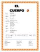 El Cuerpo- Label El Azteca-Word Search/Double Puzzle- Span