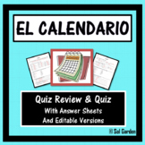 El Calendario y la Fecha (The Calendar and Date in Spanish