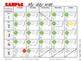 English + Spanish  + Dual Language Behavior Calendar log -
