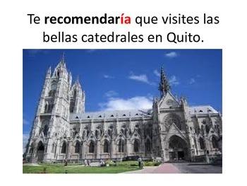 El Condicional y Ecuador