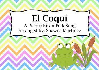 """""""El Coqui"""" a Puerto Rican Folk Song"""