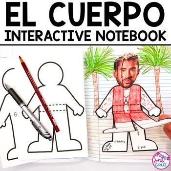 Spanish Interactive Notebook Activity:  El Cuerpo