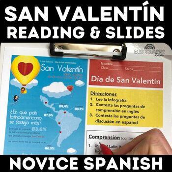Cultural Activity: San Valentín Infografía - Valentine's D