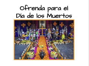 El Día de los Muertos - Ofrenda Project