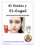 El Diablo y El Angel! Spanish Imperative Tense Posters and