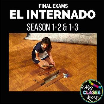 El Internado Final Exams - Seasons 1-2 & Seasons 1-3