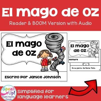El Mago de Oz Spanish Wizard of Oz Reader ~ Simplified for