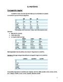 El PRETÉRITO de regulares. The Preterite of irregular verb