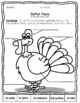 El Pavo - Label parts of the turkey in Spanish