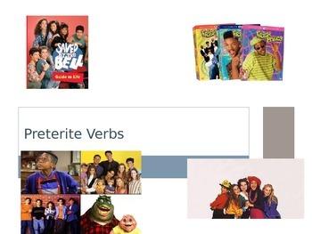El Preterito / Preterite Introduction for Regular AR, ER,