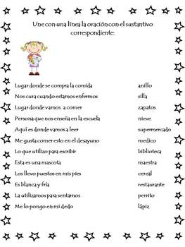 El Sustantivo (Nouns) Spanish