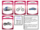 El Transporte Card Games – Transportation Vocabulary in Spanish