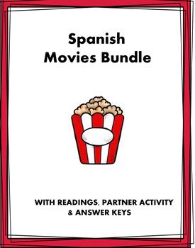 El cine, las películas y actores Lecturas ~ Movies Spanish