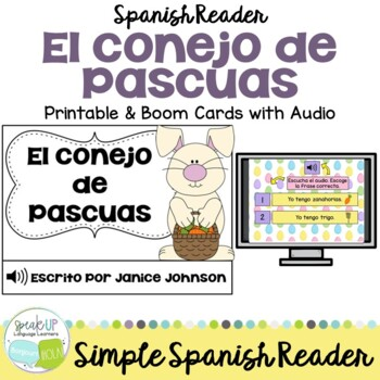 El conejo de Pascuas Spanish Easter & Spring Reader & time