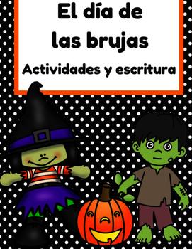 El dia de las brujas actividades & escritura (Halloween ac