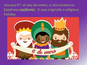 El dia de los reyes magos- introduction