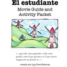 El estudiante Spanish Movie Guide and Activity Packet