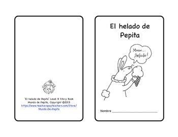 El helado de Pepita Preferences Practice Spanish Printable