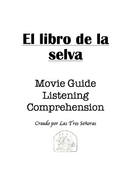 El libro de la selva/The Jungle Book in Spanish Movie Guide