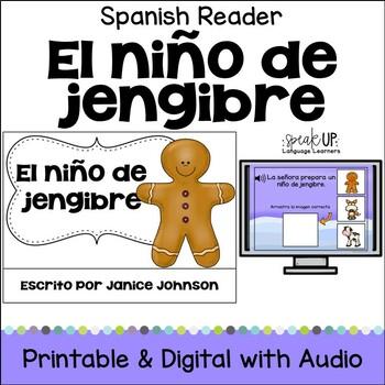 El niño de jengibre ~ Simplified Gingerbread Man Spanish r