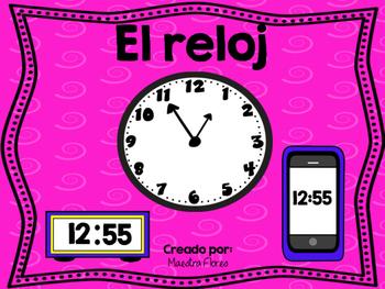 El reloj/ Time in Spanish