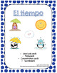 El tiempo-Weather Flashcards/Game/Handout