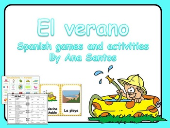 El verano _Spanish games and activities