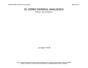 El verbo español analizado (libro)
