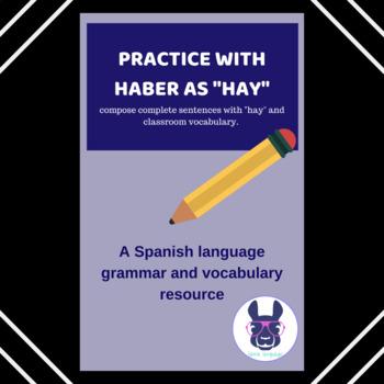 El verbo haber, frases completas - Complete sentences with