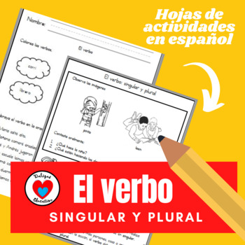 El verbo | singular y plural in spanish