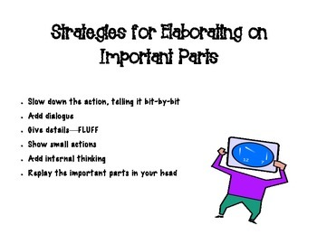 Elaborating The Important Parts Poster