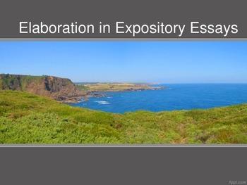 Elaboration Examples in Expository Essays--Thrill Seeking