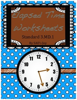 Elapse Time Worksheets