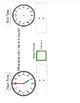 Elapsed Time Analog Clocks and Digital Frames