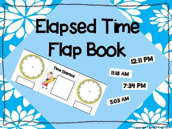 Elapsed Time Flap Book