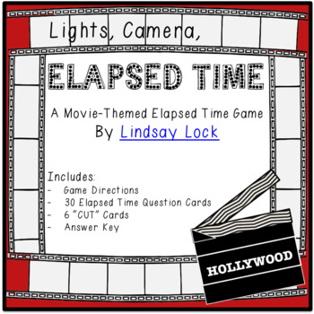 Elapsed Time Game - Lights, Camera, Elapsed Time