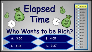 Elapsed Time Power Point Millionaire Game