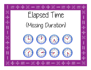 Elapsed Time - Task Cards - Missing End Time 3.7C/4.8C