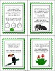 Elapsed Time Word Problem Task Cards: Rainforest Theme