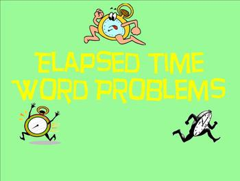 Elapsed Time Word Problems - Smartboard