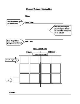 Elapsed Time Work Mat