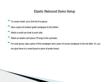Elastic Rebound Demo