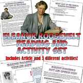 Eleanor Roosevelt Reading and Activity Set