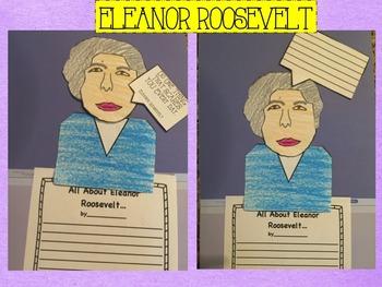 Eleanor Roosevelt Craftivity
