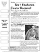 Famous Americans: Eleanor Roosevelt SS & Literacy Unit - I
